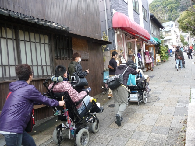 神戸バリアフリー観光調査北野異人館街