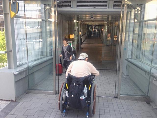 新神戸駅車いすアクセス